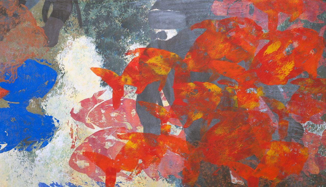 Abgetaucht (Bildausschnitt), Karin Goger-Klundt